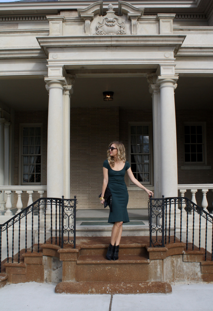 Zac Posen, What I wore, Tibi, Leather Rock, OOTD, Dallas, Texas, Christmas