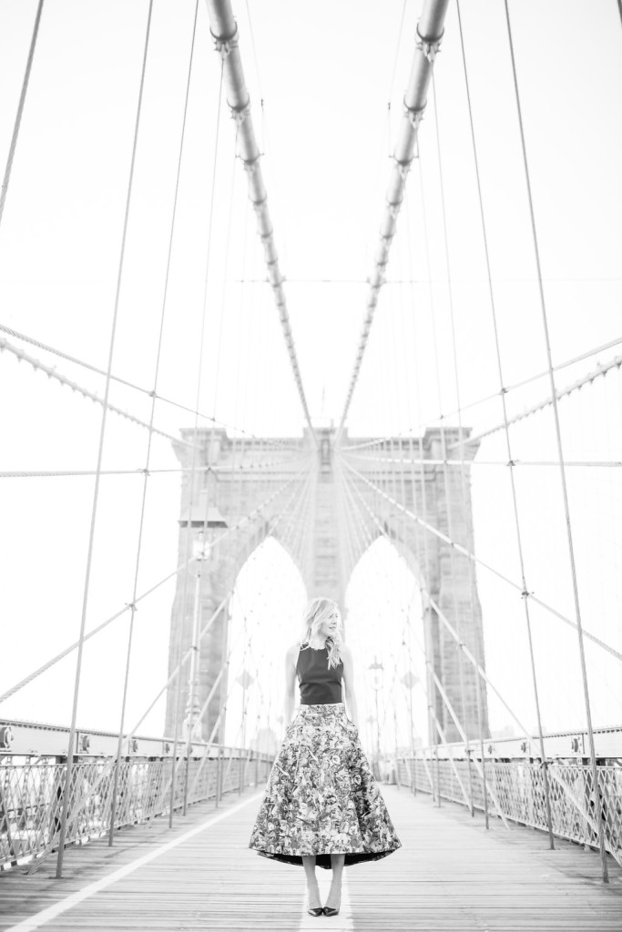 Brooklyn Bridge, Sunrise, Street Style, What I Wore, Fashion Blogger, OOTD, Alice And Olivia