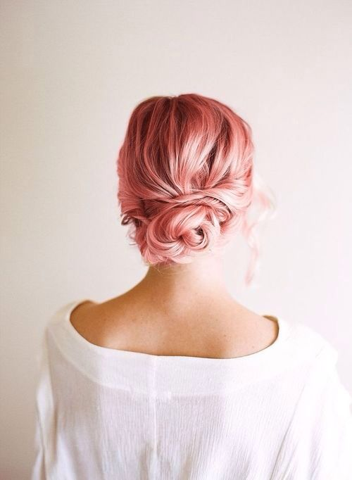 Pink Hair, Need A Change, Temporary Hair