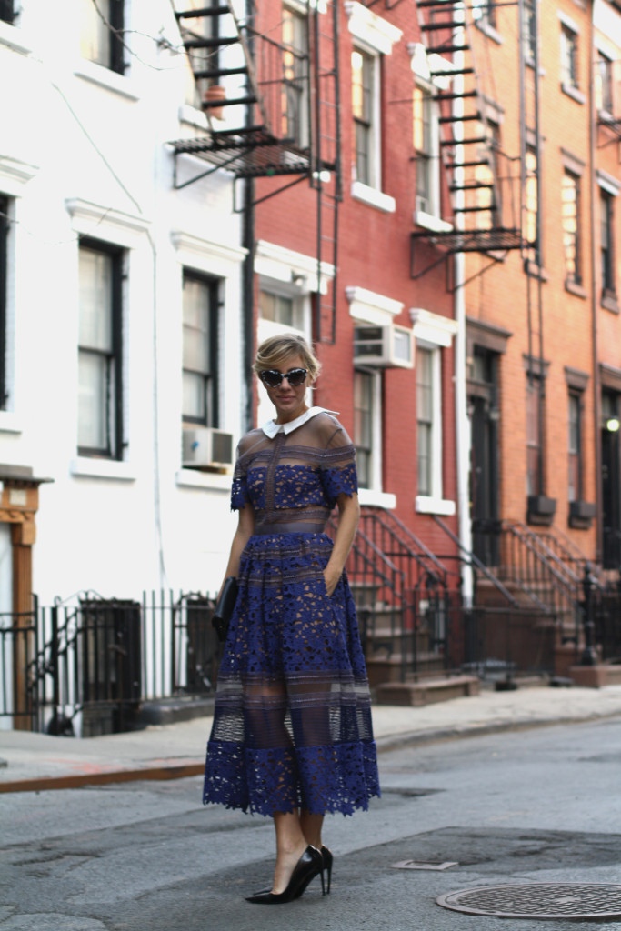 Self Portrait, NYC, Street Style, What to Wear, Spring Style, Lace, Details, Dior, West Village 55