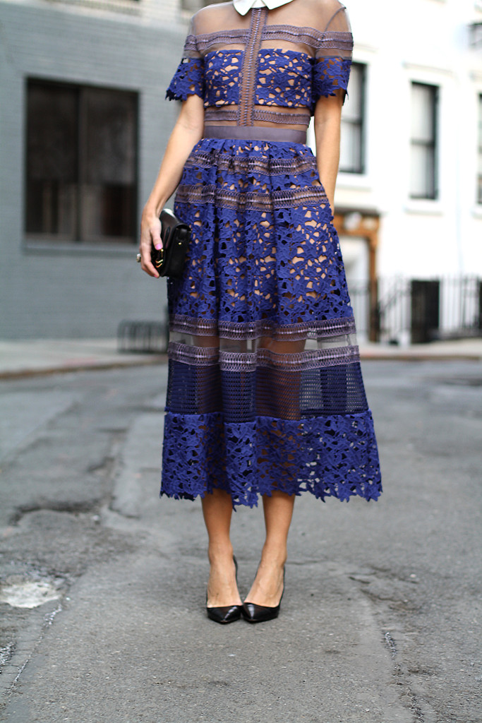 Self Portrait, NYC, Street Style, What to Wear, Spring Style, Lace, Details, Dior, West Village LOVE