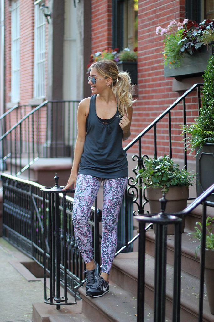 Fitness, Blogger, Activewear, Peony, NYC, use