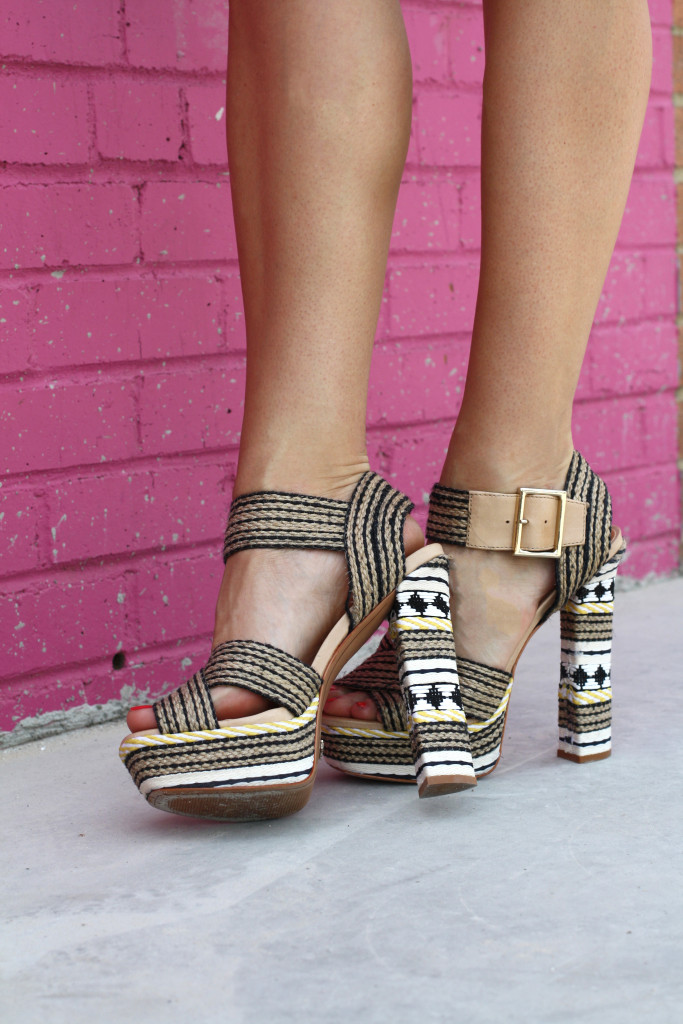Matching sets, Fashion blogger, girls with gluten, donuts, dallas blogger, ootd, summer, Schutz Shoes, Platform, Heels