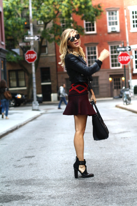 street style, NYC blogger, what i wore, WIW, OOTD, Chanel, Nasty Gal, Ronny Kobo, West village, NYC, BTS