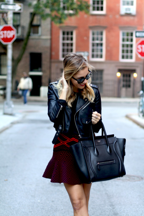 street style, NYC blogger, what i wore, WIW, OOTD, Chanel, Nasty Gal, Ronny Kobo, West village, NYC, Chanel, Celine