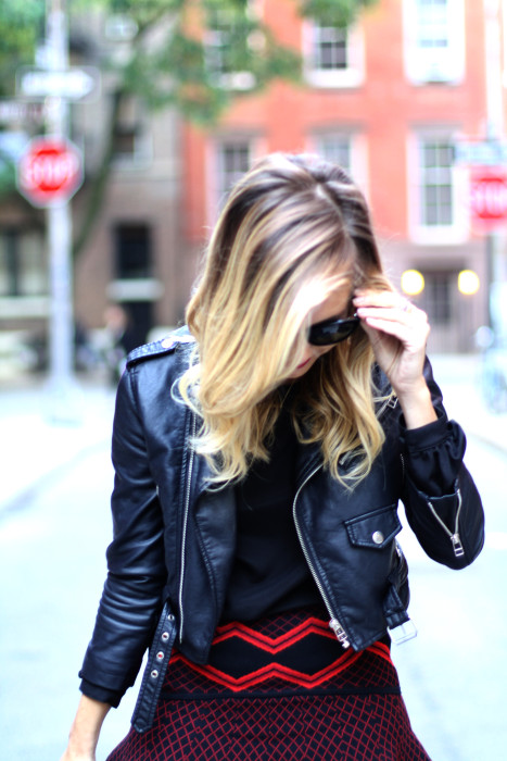 street style, NYC blogger, what i wore, WIW, OOTD, Chanel, Nasty Gal, Ronny Kobo, West village, NYC, blonde, city