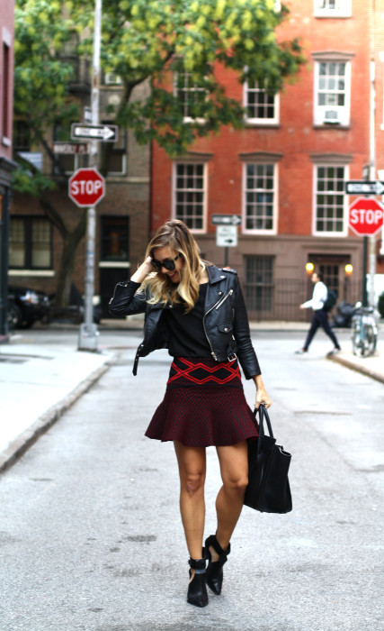 street style, NYC blogger, what i wore, WIW, OOTD, Chanel, Nasty Gal, Ronny Kobo, West village, NYC cute