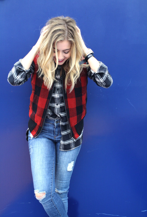 Madewell, Fall, Layers, Plaid, Laid back style, What to wear