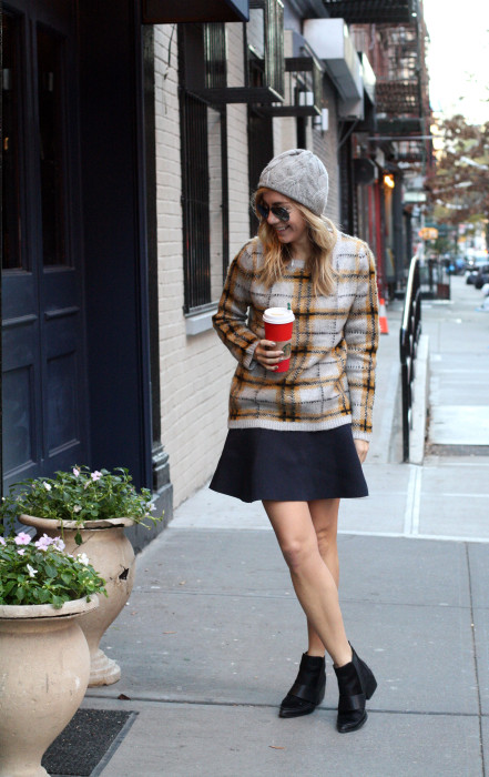 6pm.com, Red Valentino, Street Style, SoHo, What I Wore, Fashion Blogger, Winter Style, 2