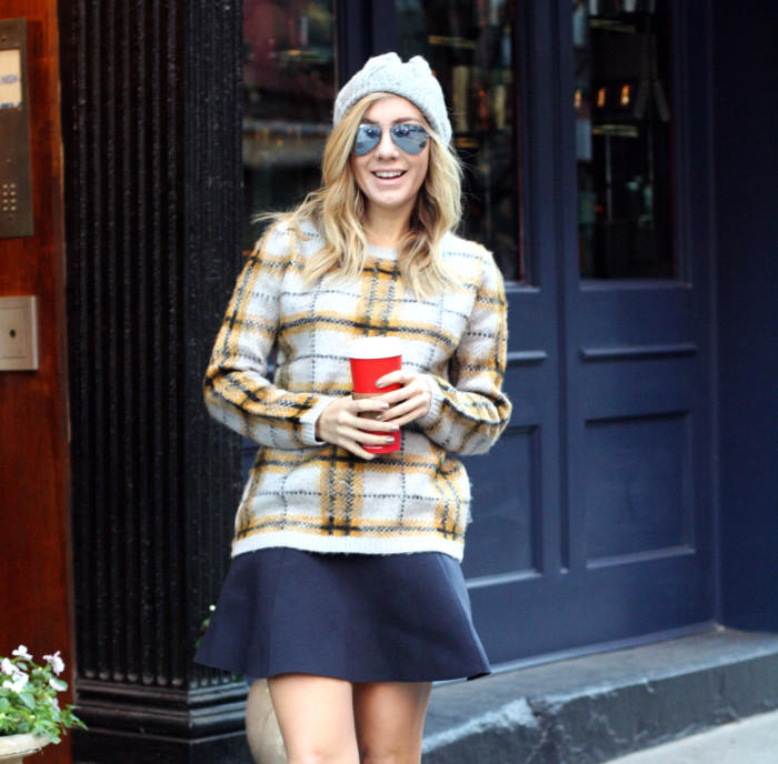 6pm.com, Red Valentino, Street Style, SoHo, What I Wore, Fashion Blogger, Winter Style
