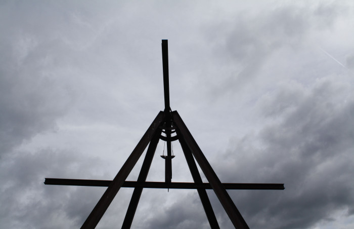 Mark di Suvero, Storm King, Art, Sculpture, Art Center, Roadtrip, NYC, Daytrip, Impossibly Imperfect, Details, Black and white