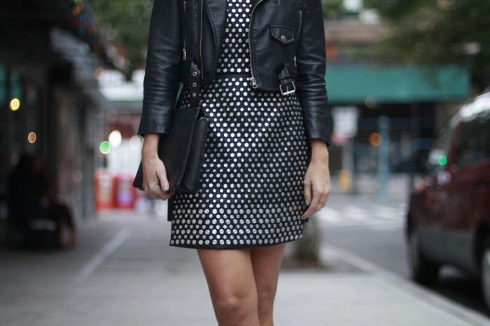 NYE, Nasty Gal, What to Wear, NY, Street Style, Impossibly Imperfect, studs