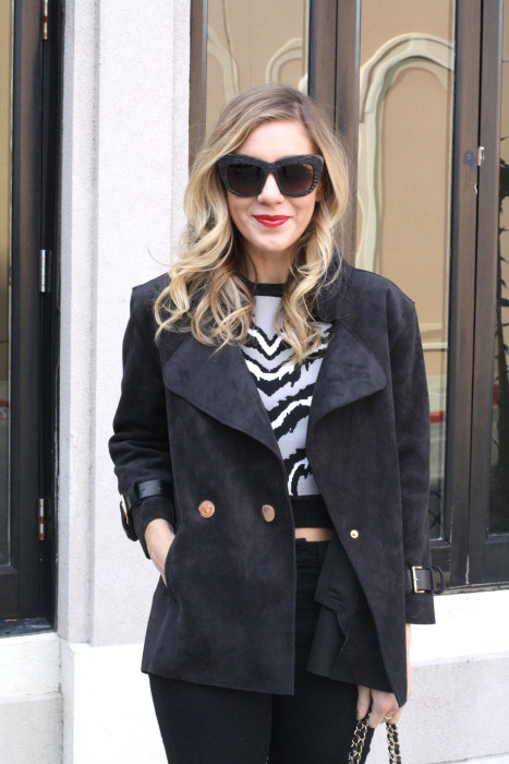 OOTD, What to wear, Casual, Chanel, OTK Boots, Dallas Blogger, street style, wiw