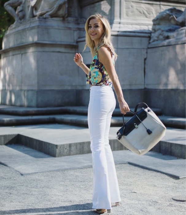Impossibly Imperfect, White Jeans, How to wear, NYC, Street Style, Zara, Hermes.jpg