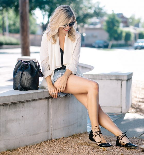 An ii Style Tip on Dressing Up Cutoffs