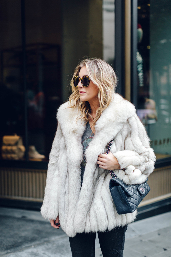 Vintage Fur, Impossibly Imperfect, On the 10, Dallas blogger