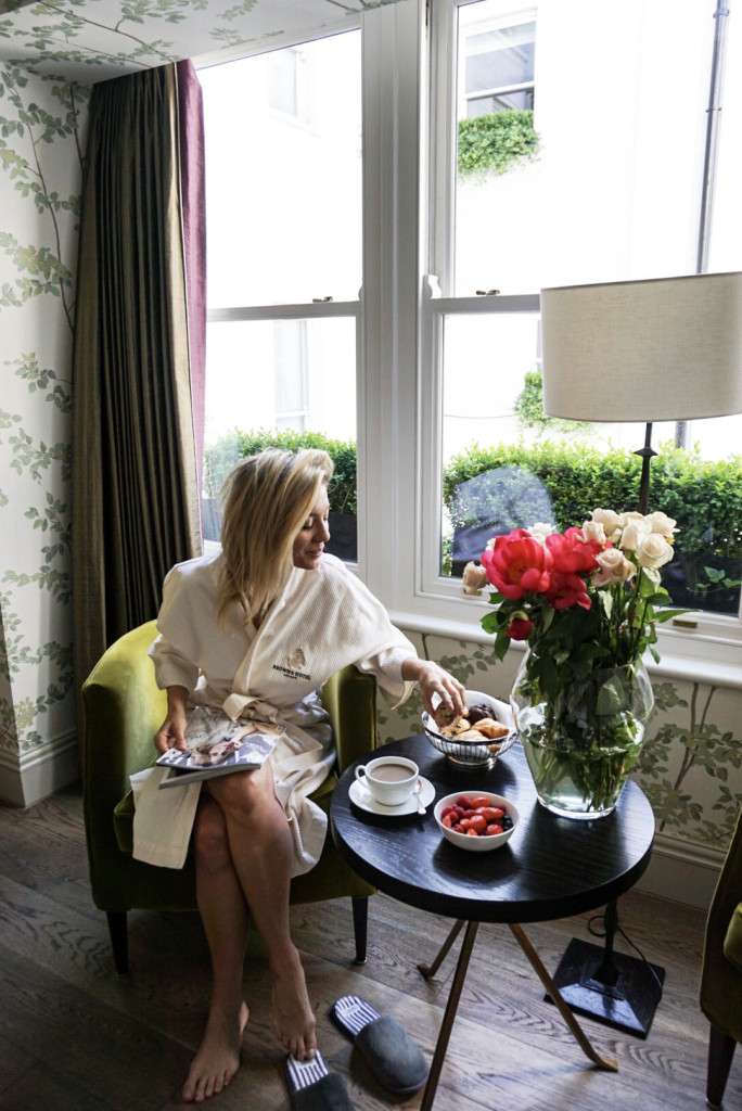 Brown's Hotel, Mayfair, London, On the Ten, Impossibly Imperfect, Luxury Travel, Travel Blogger, Room Service