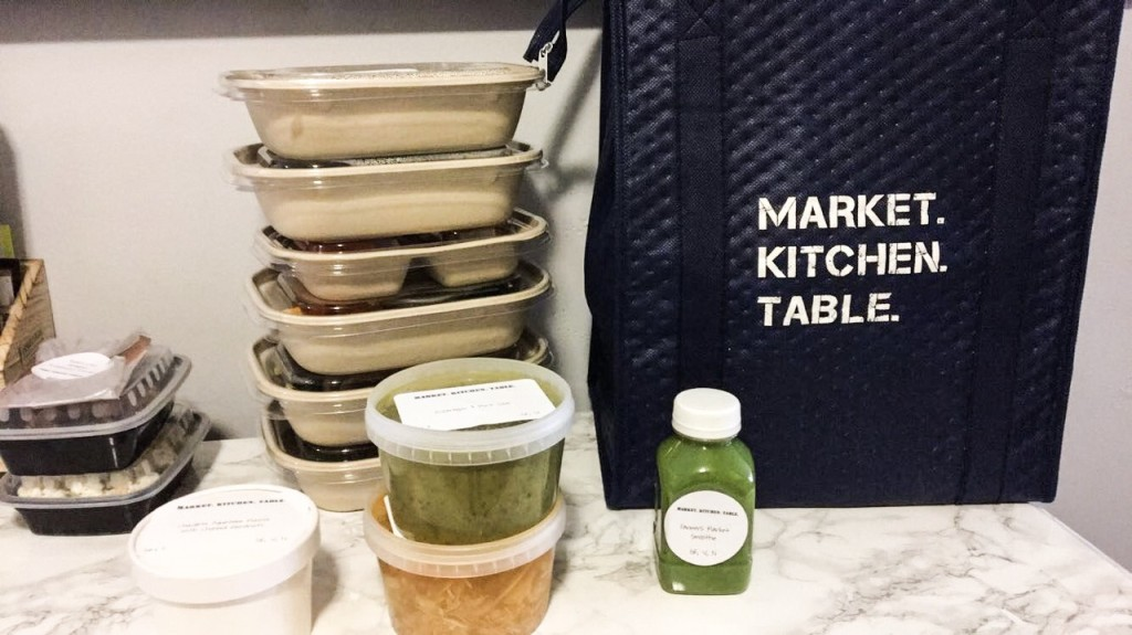 Market Kitchen Table, Clean Eating
