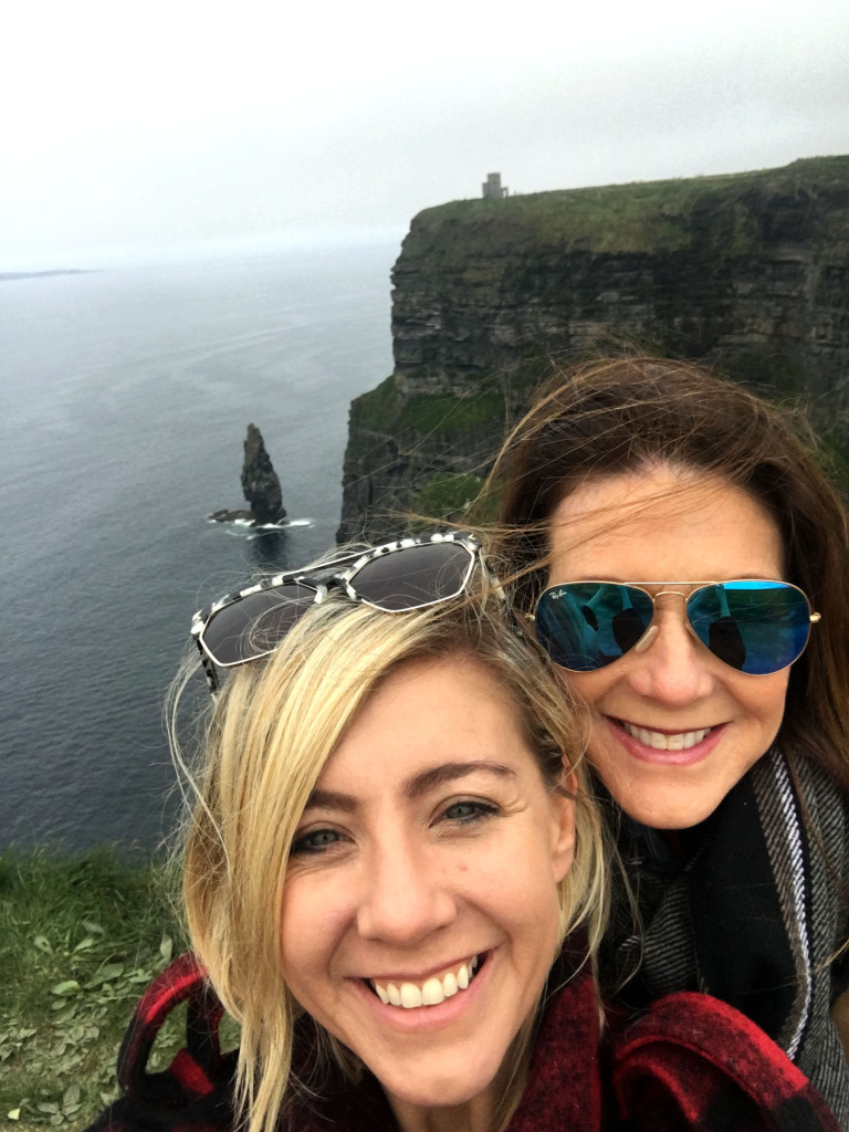 Mother's Day - Sketch, On the 10, Nelson's take Europe, Ireland, Clifs of Moher, Travel blogger
