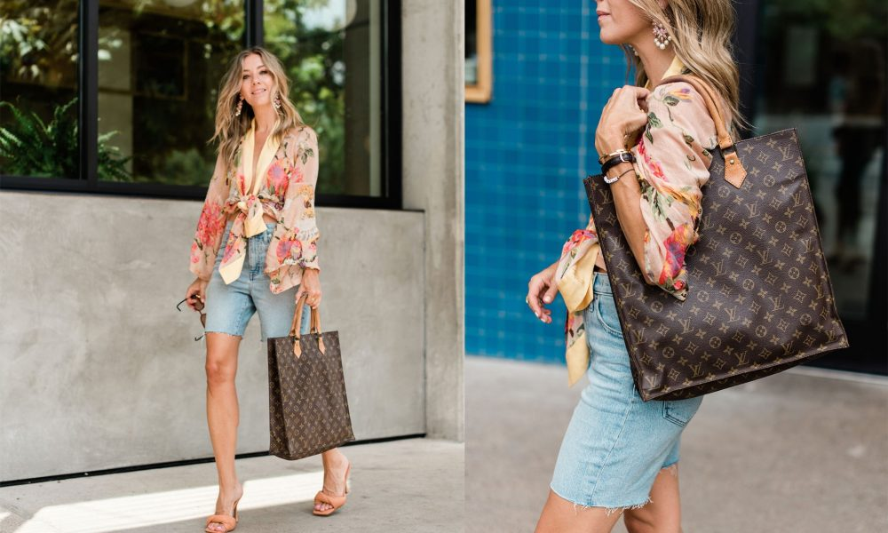 How to Style a Vintage Louis Vuitton with LXR & Co.