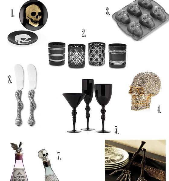 Small Space Decorating: A Hauntingly Grand Soiree
