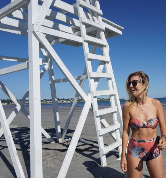 How to rock a high waisted swimsuit