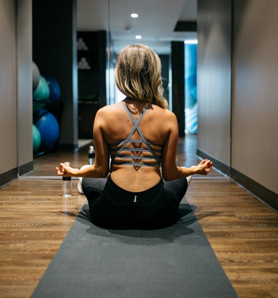 Zenning out with CorePower Yoga and giving away a free week of classes!